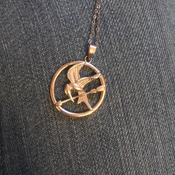 Jewelry hunger games mockingjay necklace poshmark hunger games mockingjay necklace aloadofball Images